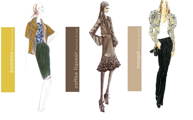 Pantone Fall 2011 Fashion Colors by Lela Rose, Elie Tahari and Rebecca Minkoff