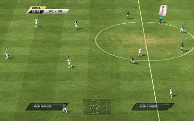 Scoreboard GSP TV FIFA 11 placar