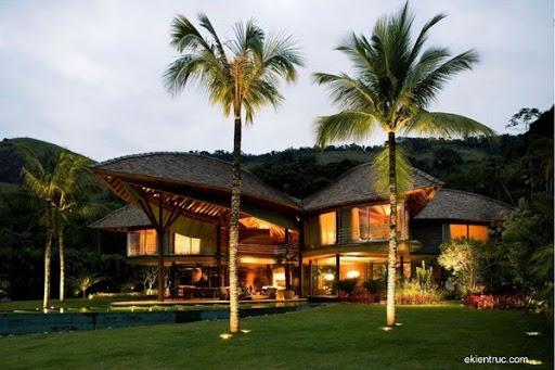 Leaf House 11 2 750x500 Kiến trúc nhà lá thú vị tại Brazil