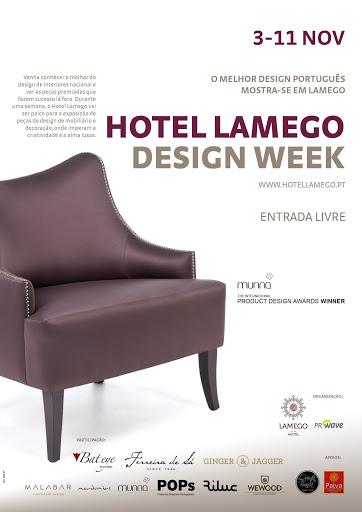 Primeira mostra de design de interiores no Douro no Hotel Lamego