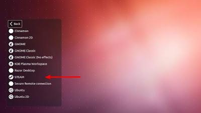 Cómo cargar Steam desde la pantalla de inicio de sesión de Ubuntu