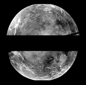 Mosaico de Venus - Observatorio de Arecibo