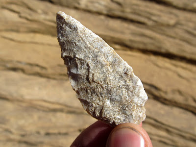 Arrowhead found near South Temple Wash