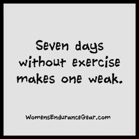 seven days without exercise