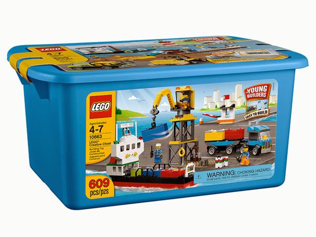 10663 レゴ 基本セット 青のクリエイティブコンテナ