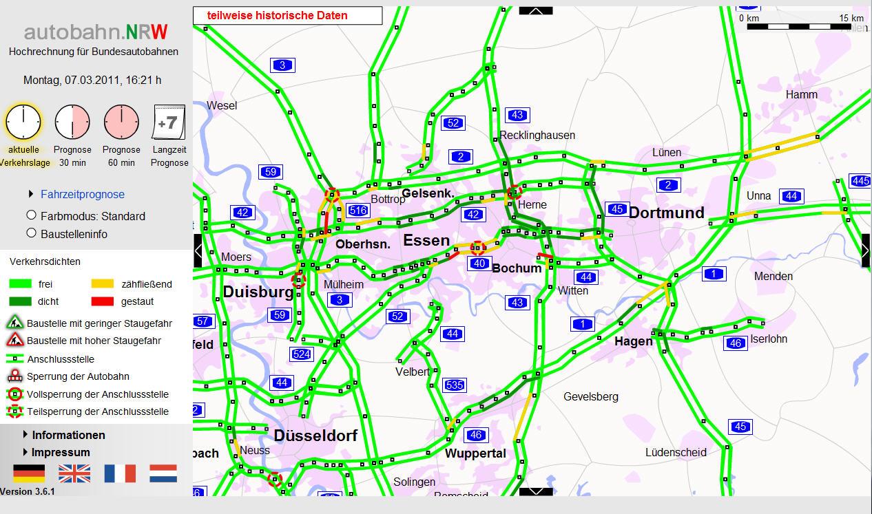 autobahn nrw karte Landkartenblog: Die besten Webseiten für aktuelle  autobahn nrw karte