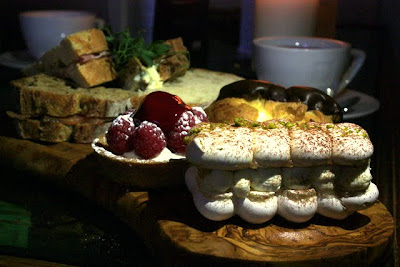 Afternoon tea at Stanmer House near Brighton England