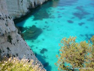 Γαλάζιες Σπηλιές / Blue caves