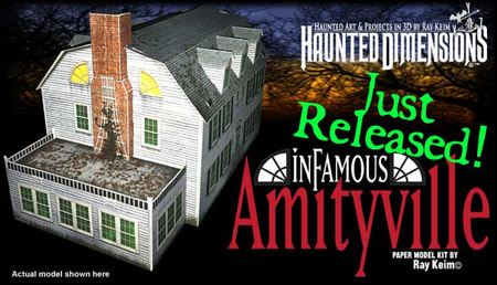 Amityville Horror House Papercraft