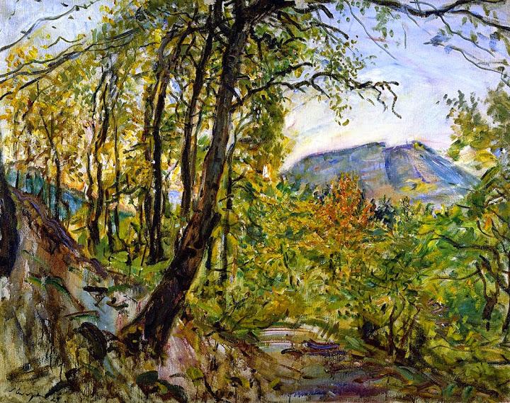 Max Slevogt - Palatinate Landscape, 1921