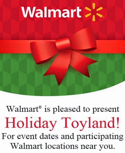 Walmart Holiday Toyland Events #ChosenByKids