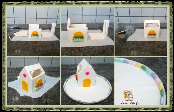 Casinha de açúcar montagem 1