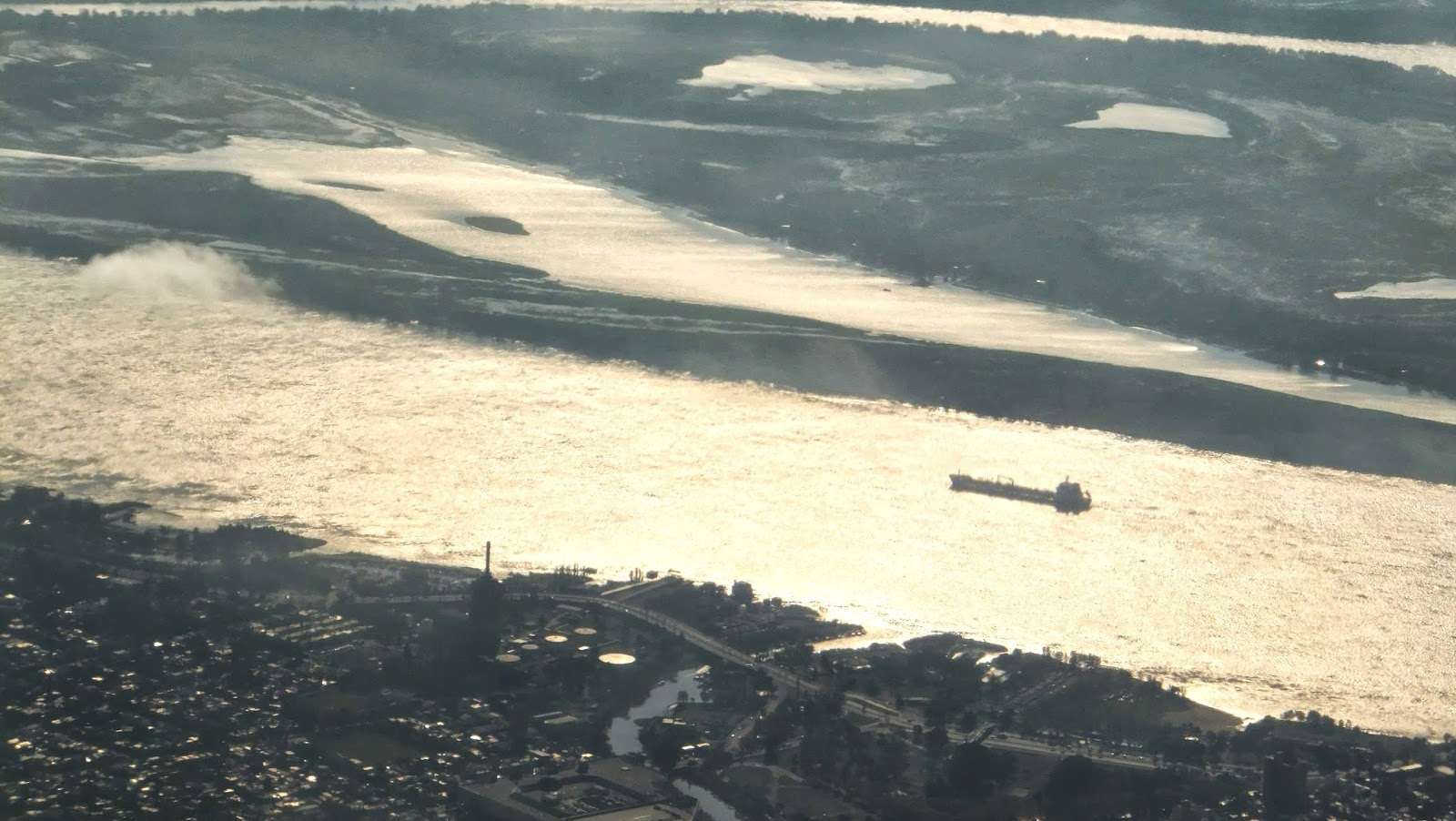 Vista aérea Puente Rosario-Victoria, Argentina, Elisa N, Blog de Viajes, Lifestyle, Travel