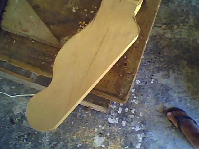 Construção guitarra telecaster, meu 1º projeto bolt on. Finalizado e com vídeo Imagem+051