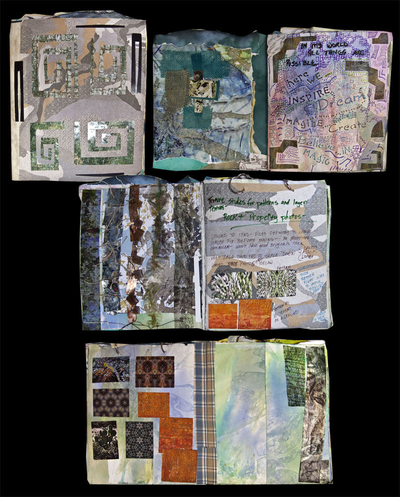 Sketchbook Cover Collage : Kathyanne white the sketchbook challenge