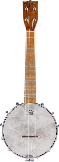 modern chinese made gretch claraphone banjolele banjo at Lardy's Ukulele Database