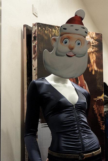 Манекен Санта