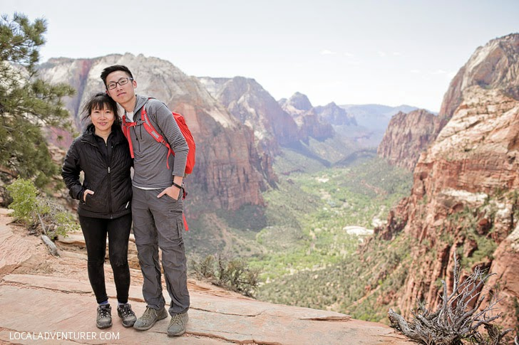 Angel's Landing Hike.