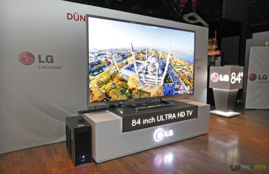 84 inç Ultra HD TV