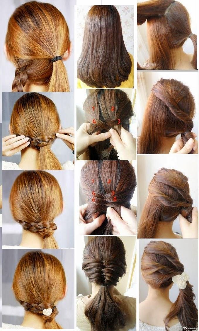 Peinados para nina faciles y rapidos trenzas