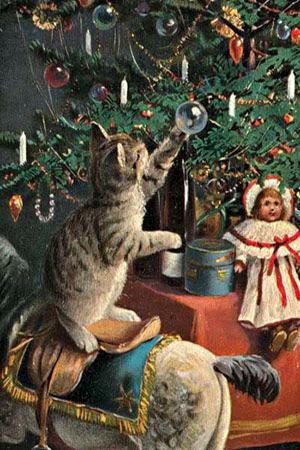открытки, россия, история, новый год, рождество, праздник, дети, музей детства