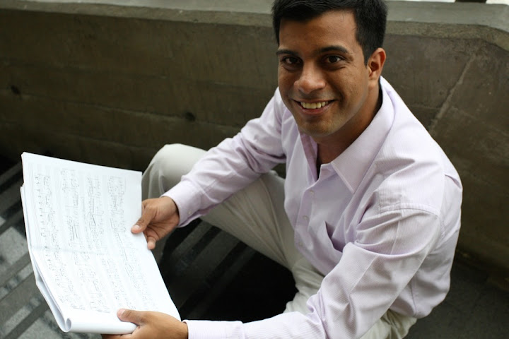 El compositor venezolano Angel Hernández gana II Edición del Concurso Internacional de Composición Antonin Dvorak, llevándose la mención Mejor Obra Libre