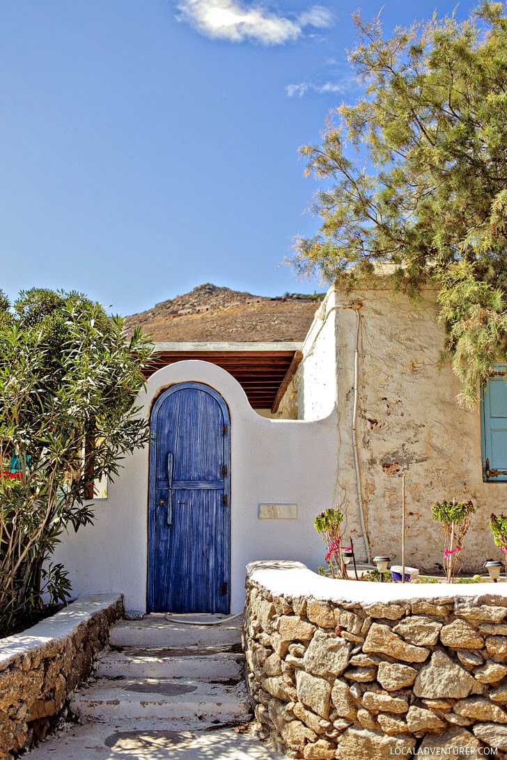 Agios Sostis Mykonos Greece.