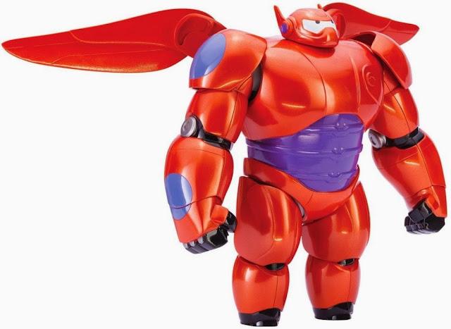 Mô hình Armor Up Baymax Big Hero 6 sau khi lắp ráp xong