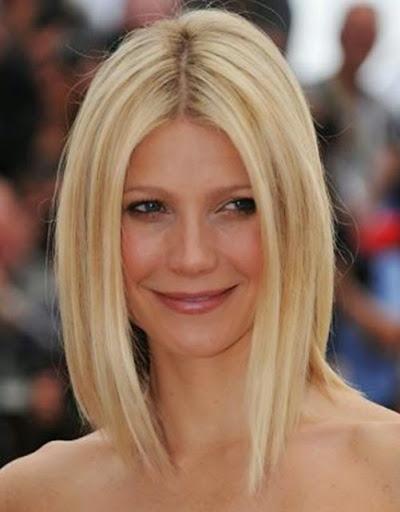 corte de pelo y peinado para pelo liso media melena bob gradual