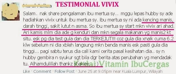{focus_keyword} Antioksidan Membantu Menjadi Penawar Kencing Manis testimonial vivix kencing manis darah tinggi