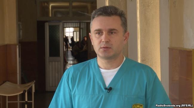 Юрій Романішин, лікар-хірург Першого добровольчої мобільного госпіталю імені Миколи Пирогова