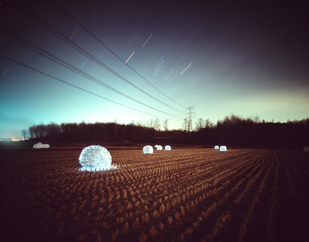 'Starry Night' Light Photography by Lee Eunyeol