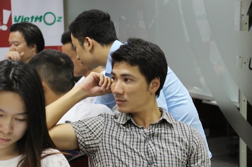 Hình ảnh anh Thắng trong lớp học