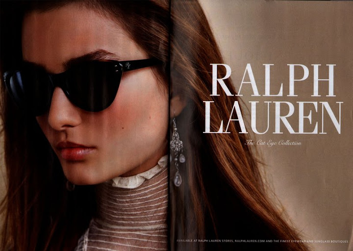 Ralph Lauren Cat Eye collection