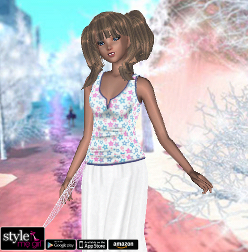 Style Me Girl - Level 20 - Dream Theme - Fashion Angel - NO CASH ITEMS! - Snapshot