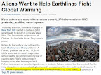 Aliens Could Attack Earth to End Global Warming, NASA Frets