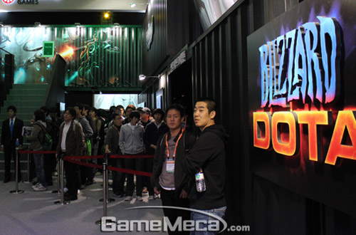 Gstar 2011: Toàn cảnh gian hàng Blizzard Entertainment 4