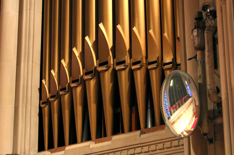 Pipe organ detail, Knox Presbyterian church, Ottawa, On