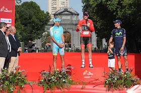 Chris Horner, ganador de la Vuelta a España 2013
