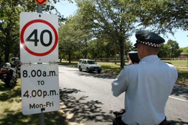 speed zones