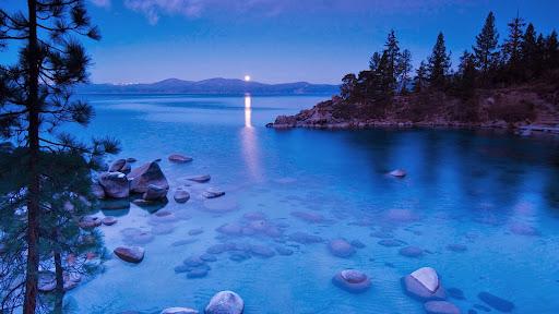 Secret Cove by Moonlight, Lake Tahoe, California.jpg
