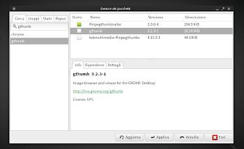 Manjaro Linux Software Center