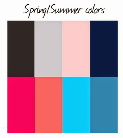 110 creations wardrobe architect spring summer color palette. Black Bedroom Furniture Sets. Home Design Ideas
