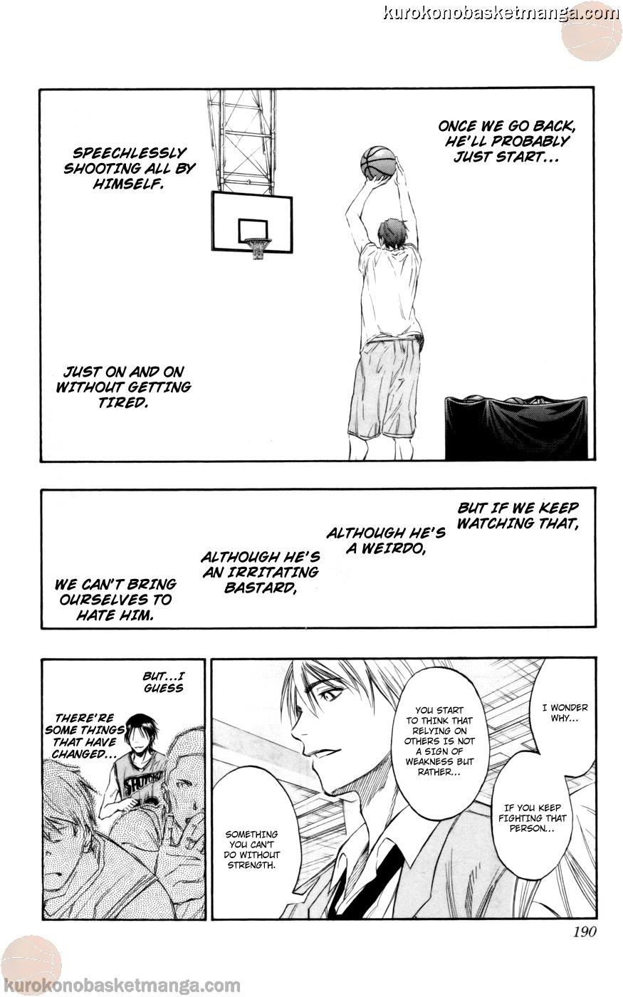 Kuroko no Basket Manga Chapter 89 - Image 16