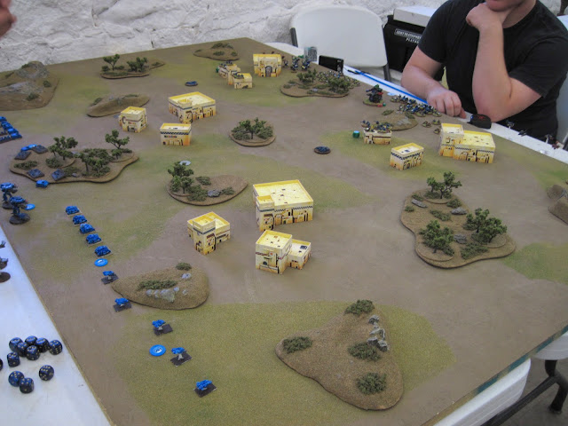 Rob's Ultramarines prepare to clear some Ork squatters.