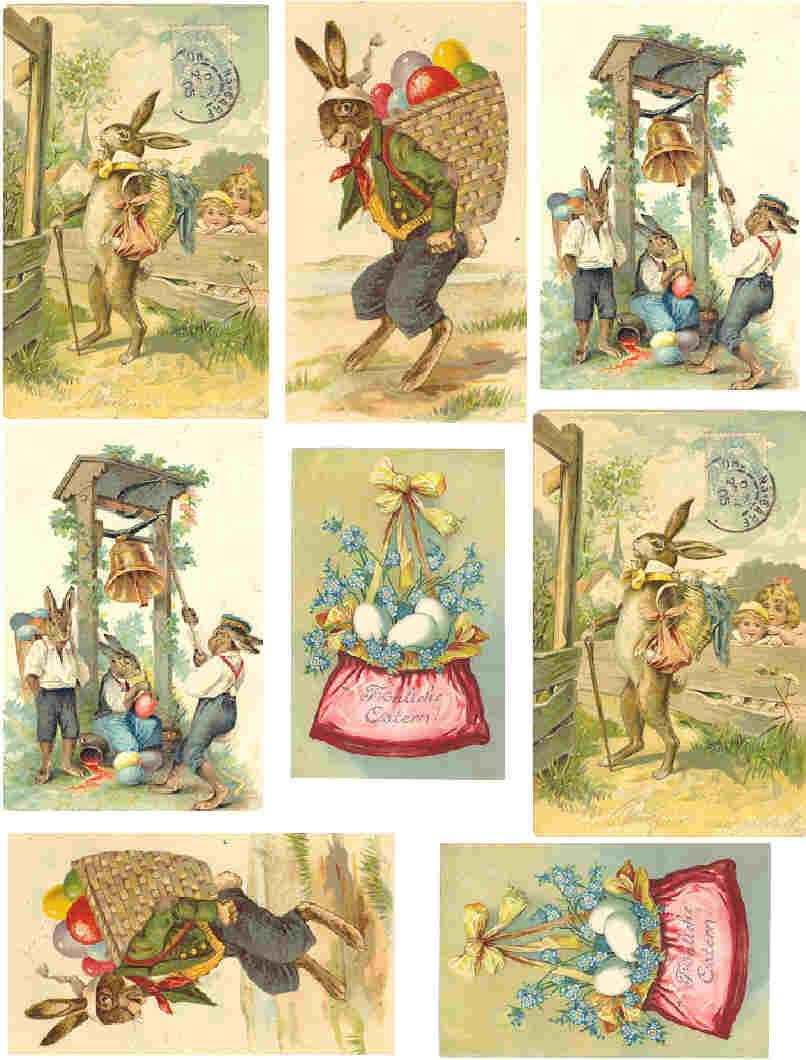 Laminas decoupage mas easter eggs espero que os gusten - Laminas antiguas para cuadros ...