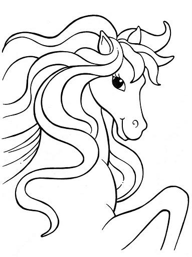 Pinto dibujos mi bello pony para colorear for Pretty pony coloring pages