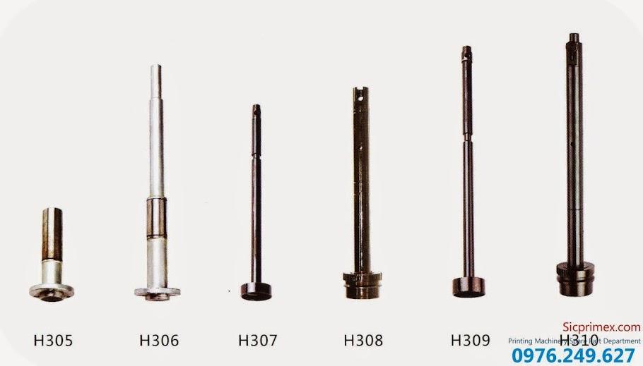 Trục máy ngành in nhập khẩu chính hãng giá tốt nhất H305-310