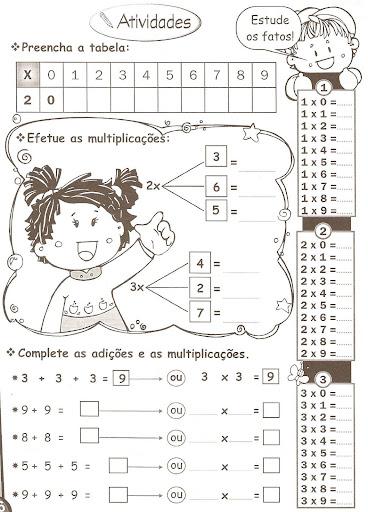 Atividades De Matemática 3º Ano Ensinando Com Carinho