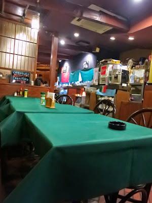 店内は雰囲気のある洋食屋さんという感じだ